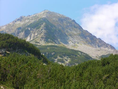 Muratov (Pirin). Summer routes