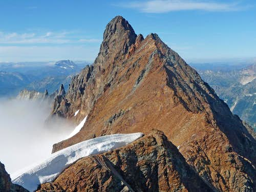 Boston Peak\'s South Face
