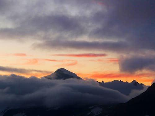 Evening Colors over Eldorado Peak
