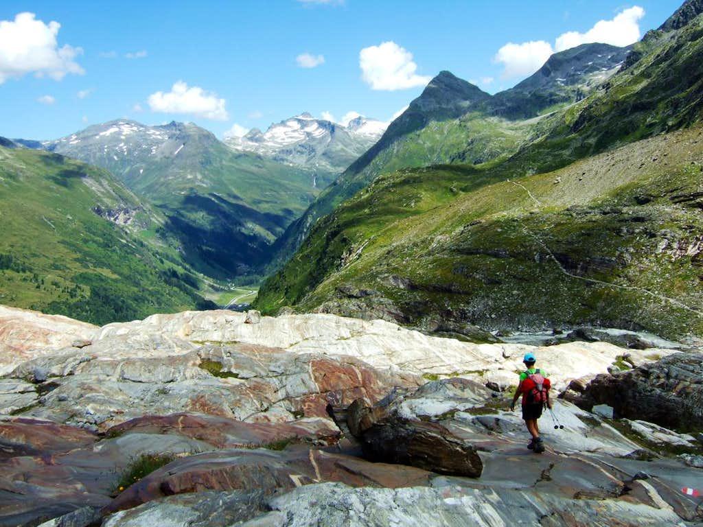 Gletscherweg Innergschloss