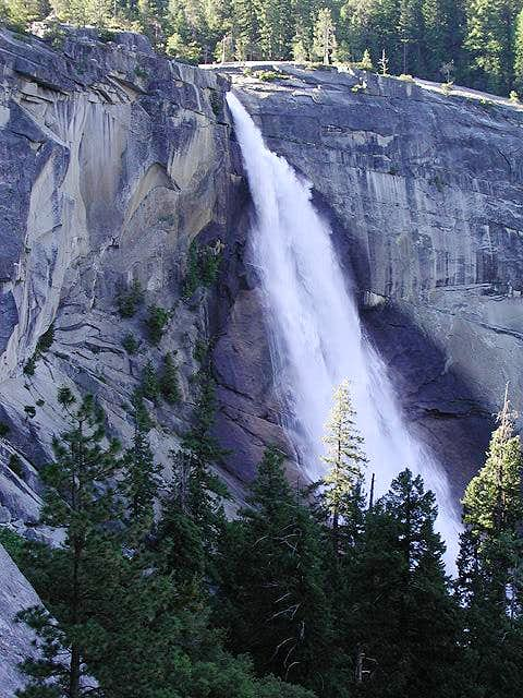 Nevada Falls on the approach...