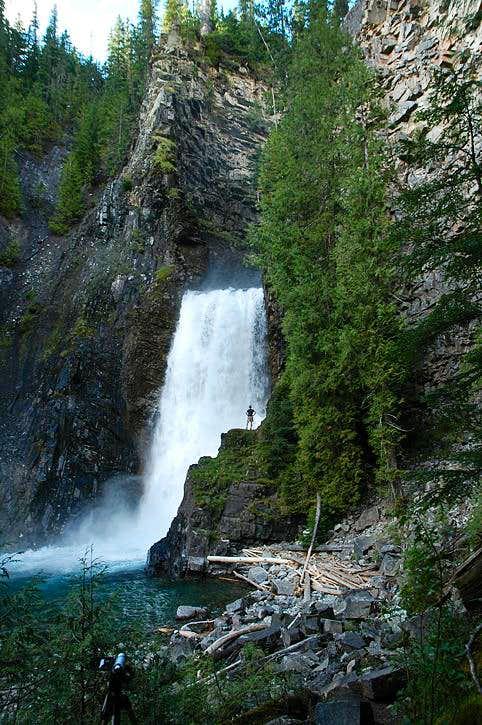 Wilson Creek Falls Photos Diagrams Topos Summitpost