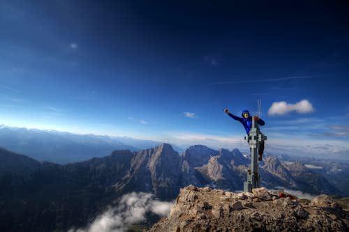 Hochwanner summit