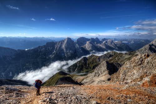 Hochwanner ascent