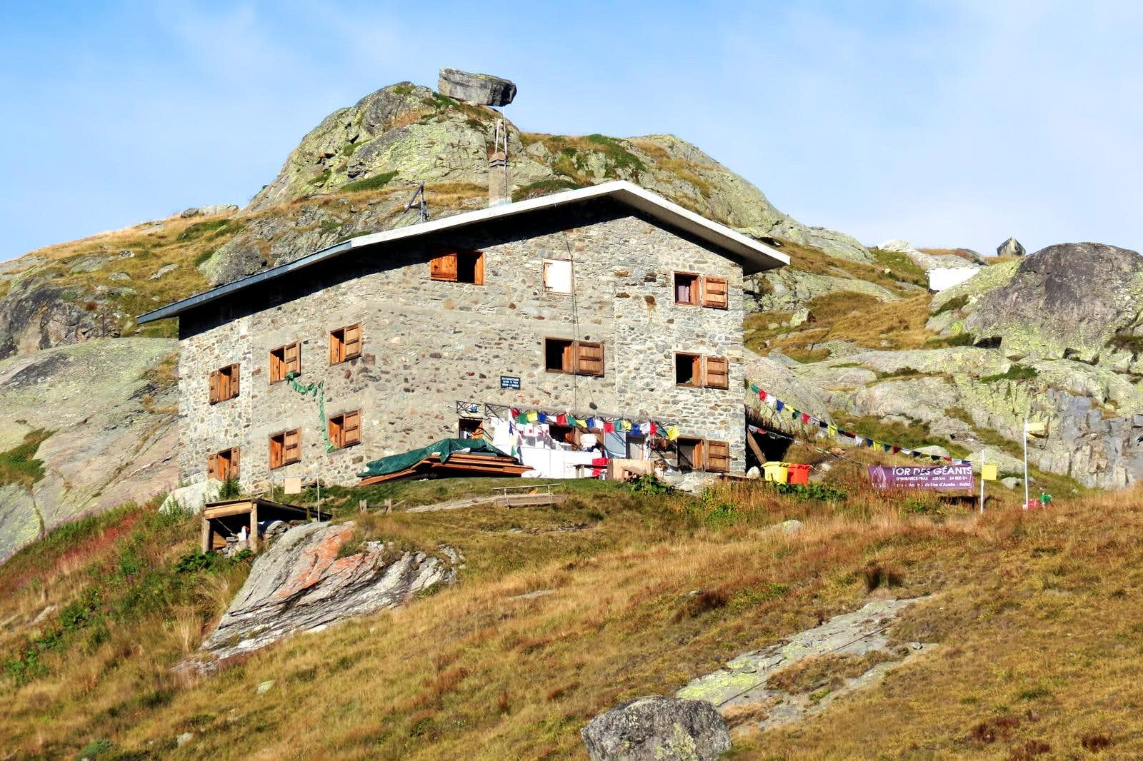 <font color=ff7000>⌂</font>Alpine REFUGES in the Aosta Valley &quot;La Thuile Valley&quot;