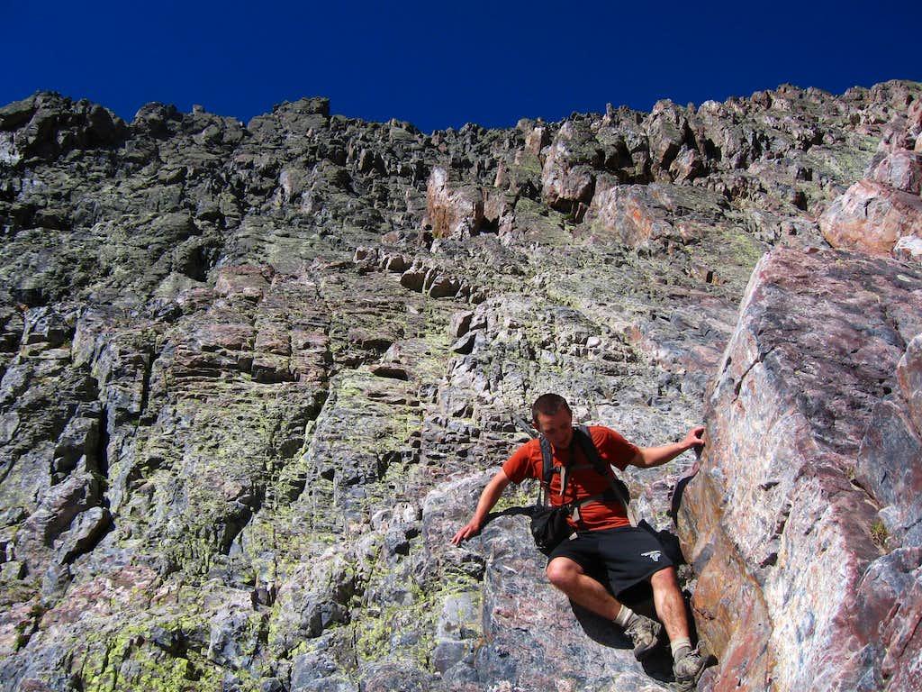 Scrambling Arrow Peak