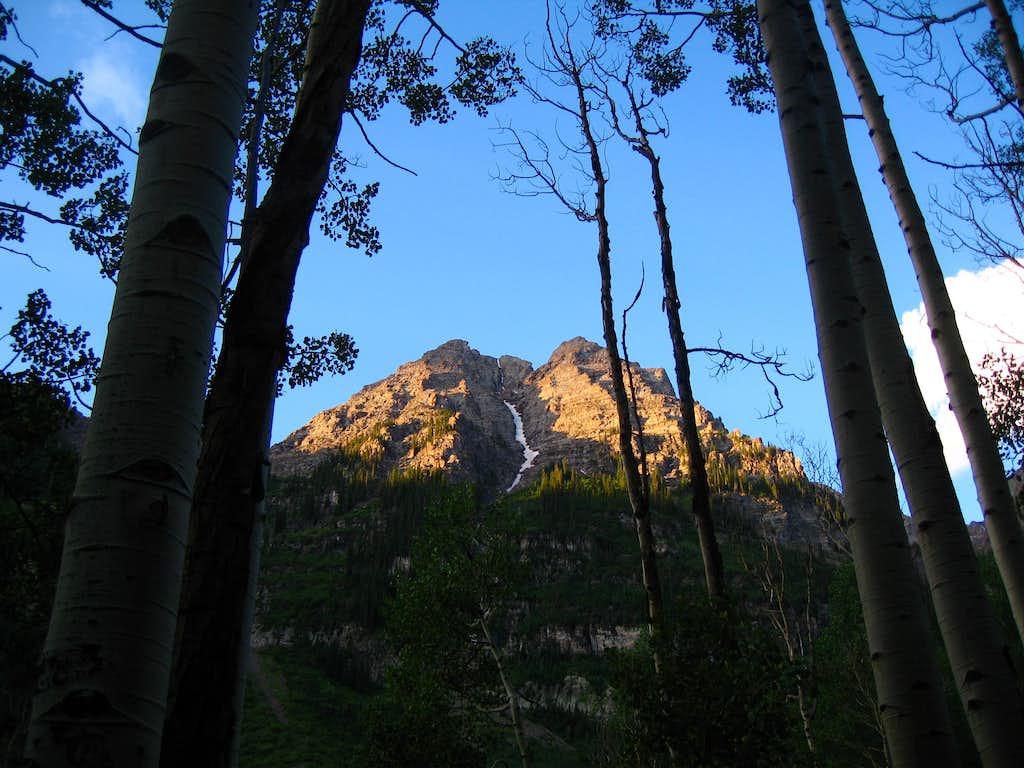 Pyramid Peak area