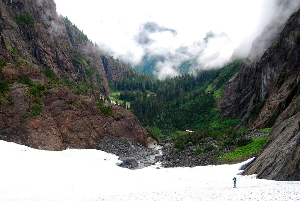 Mirren Lake Route: Looking back