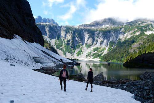 Mirren Lake Route: Mirren Lake