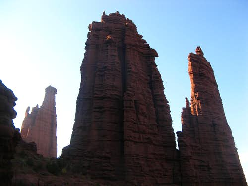 Echo Tower, Fisher Towers, UT