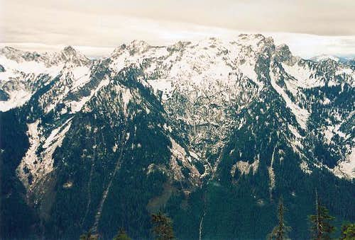 The Snoqualmie Mountain...