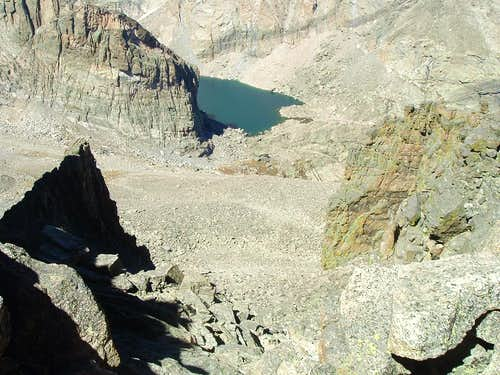 """Ships Prow"" and Chasm Lake"