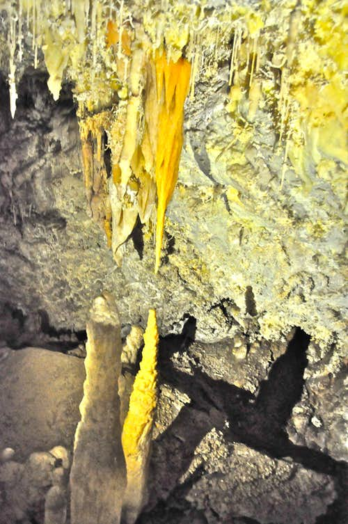 Stalactites and Stalagmites getting close