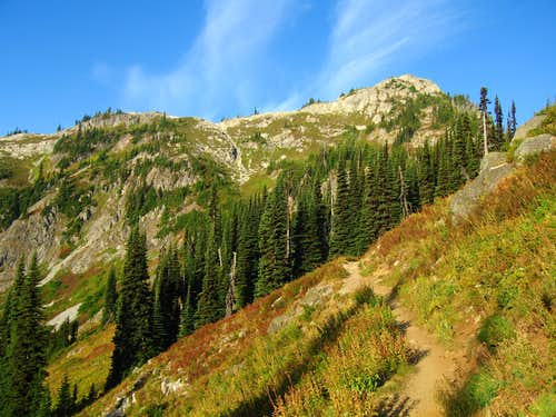 Heather Pass trail