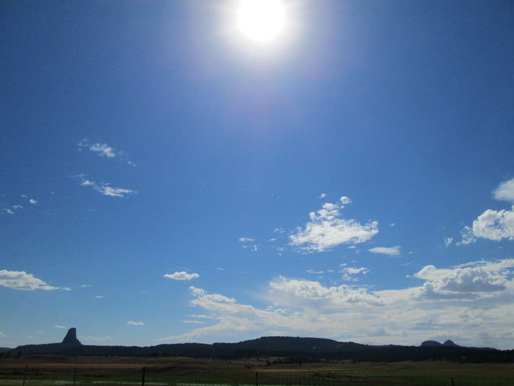 Devils Tower and the Missouri Buttes