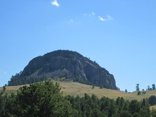The Tallest of the Missouri Buttes