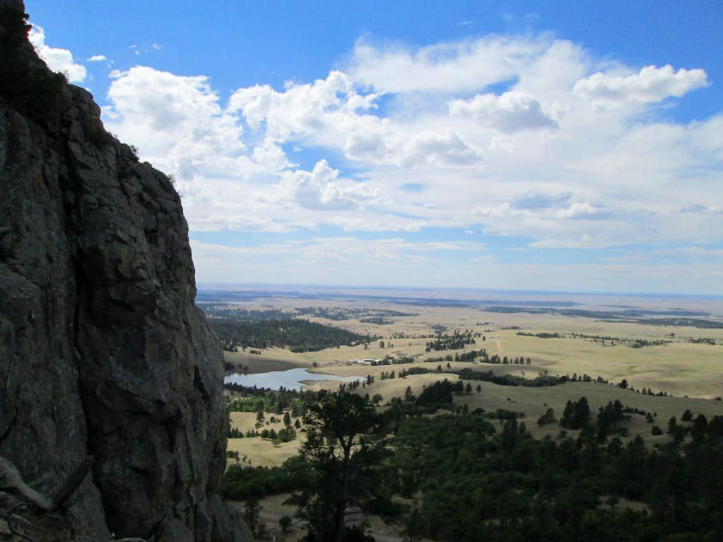 Climbing the tallest Missouri Butte