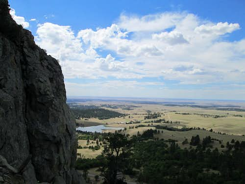 Climbing the tallest Missouri Butte