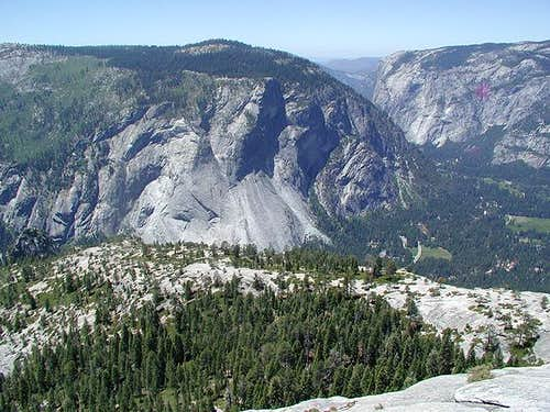 Glacier Point as viewed from...