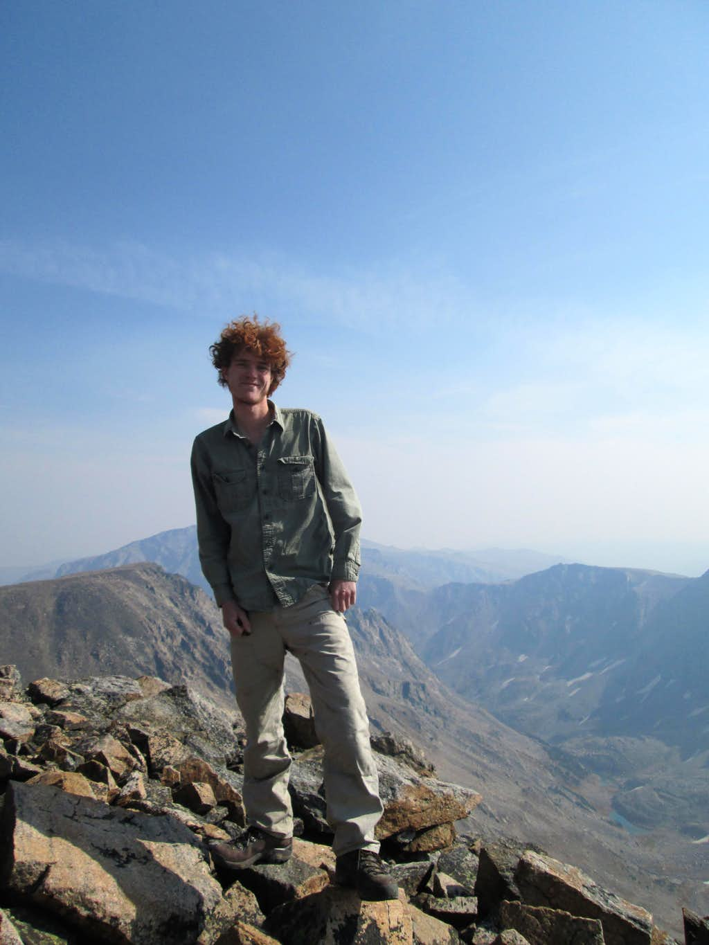 Me on top of Castle Mountain