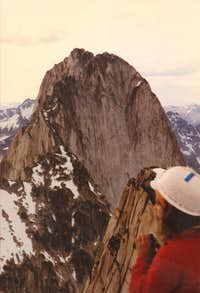 Bugaboo spire from Snowpatch