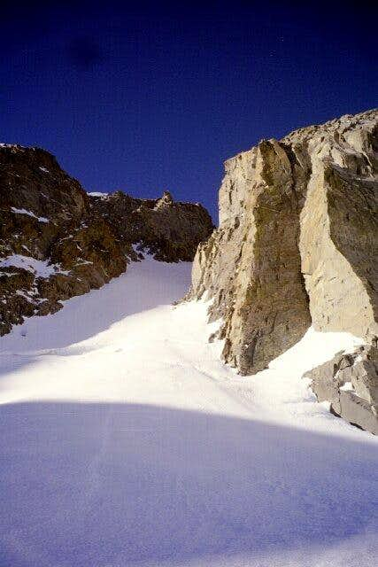 The U-Notch Couloir - one of...