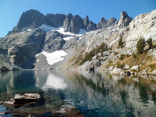 The Minarets and Iceberg Lake