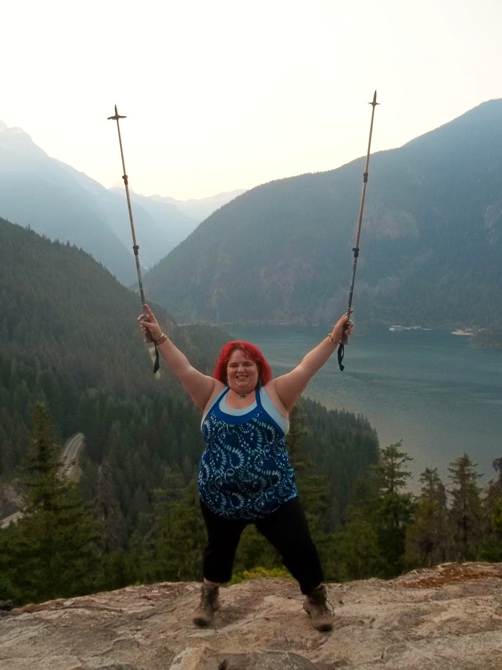 BearQueen celebrates her 51st summit
