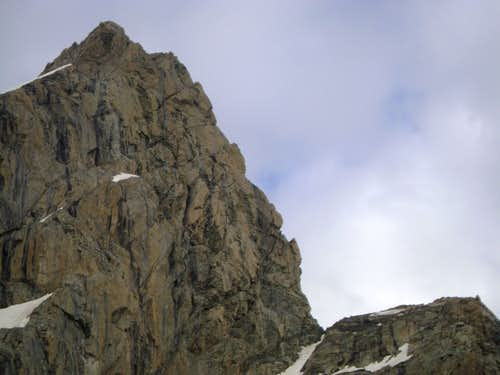 The North Ridge of the Grand Teton