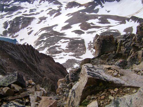 Exposure on Granite Peak MT