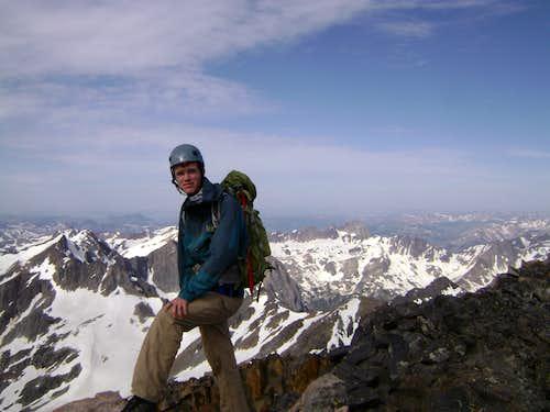 Myself on the summit of Granite Peak MT