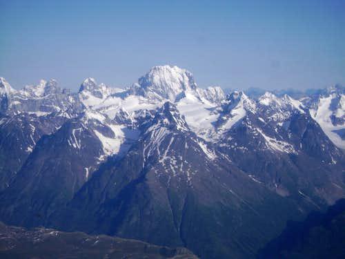 Mount Neacola the highest Peak in the Neacola Mountains-9426 ft