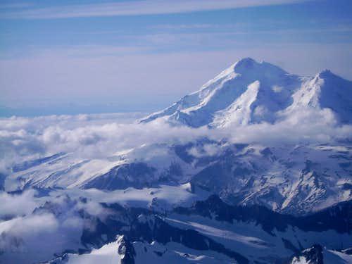 Redoubt Volcano-Highest Peak in Aleutian Range.
