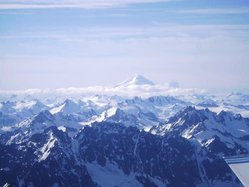 Mt Iliamna: 10,016 ft-The second hightest peak in the Aleutian Range