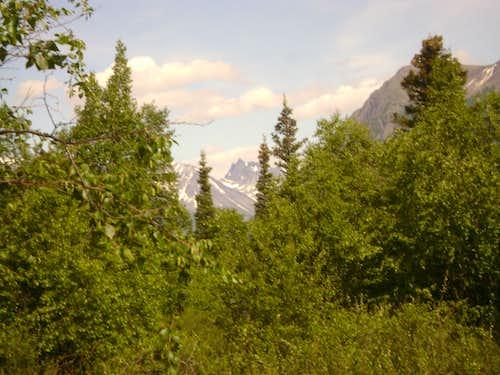 Chigmit Mountains of Lake Clark National Park-Aleutian Range