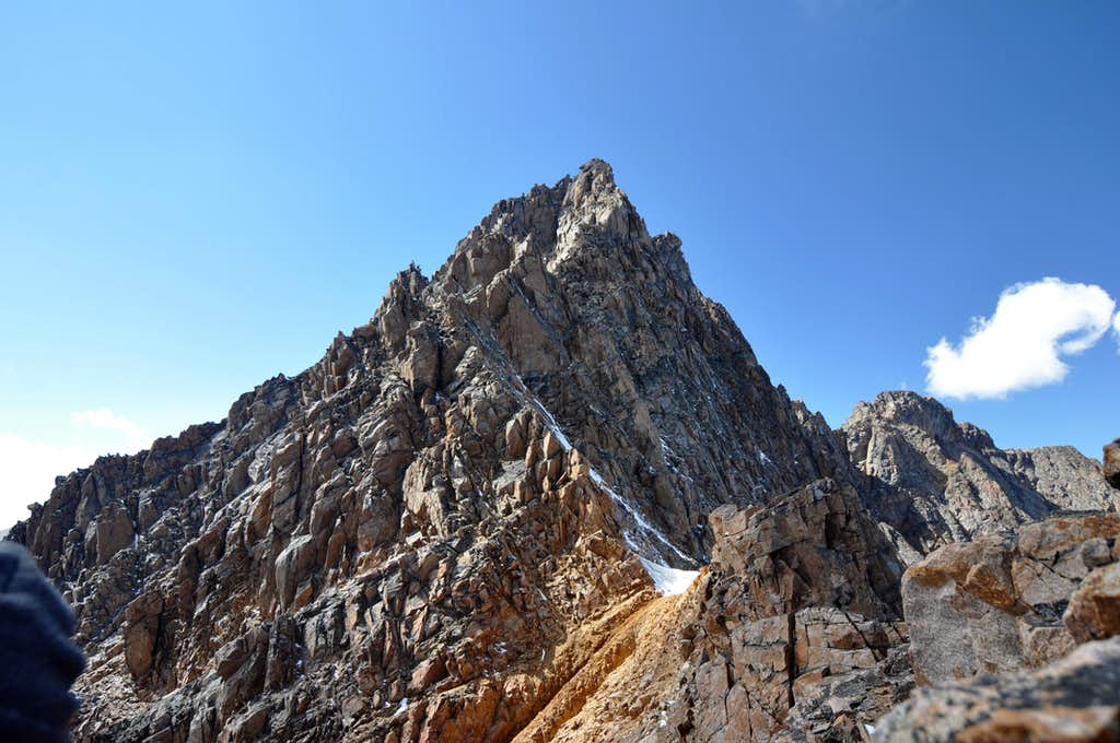Granite's upper mountain