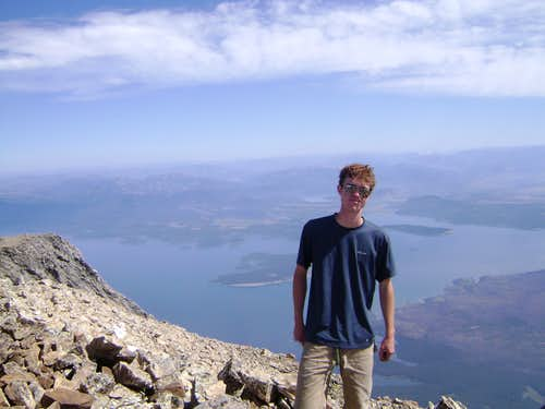 Myself on the Summit of Mount Moran