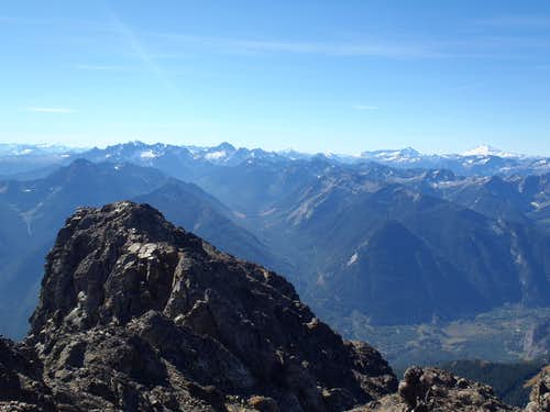 Silvertip - South Summit View