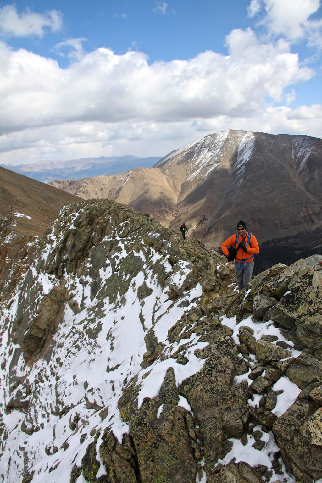 The ridge below Frasco