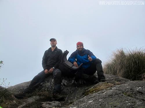 Summit of Capim Amarelo Peak