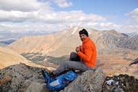 Senad on the summit