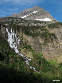 Cathedral Peak and Paiota Falls