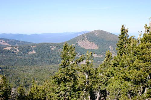 Mount Harriman from Mount Carmine