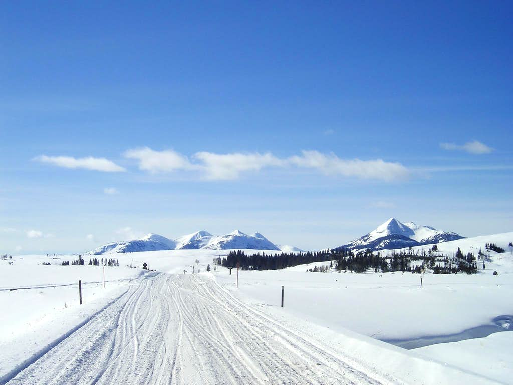 Mt Holmes in the Winter