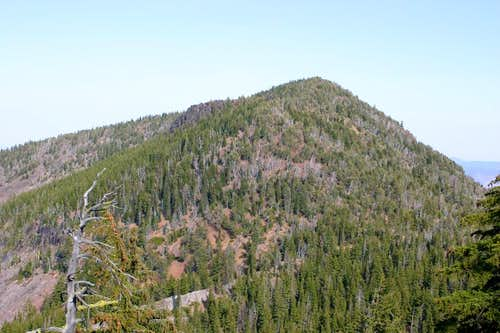 Mount Carmine from Mountain Lakes Trail