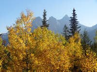 It's Fall in Canmore