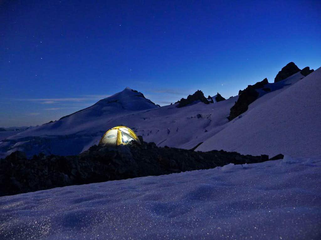 A Beautiful Night at Klawatti Camp