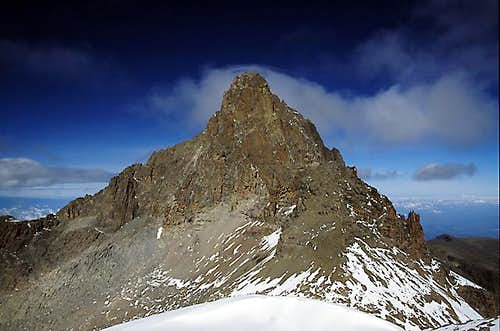 The view of Mt Kenya from the...