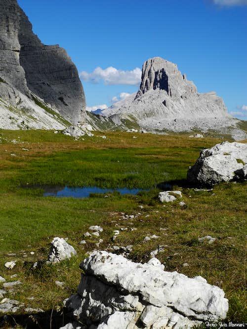Becco di Mezzodì from Alpe di Mondeval