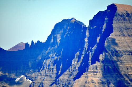 North face of Mount Cleveland GNP